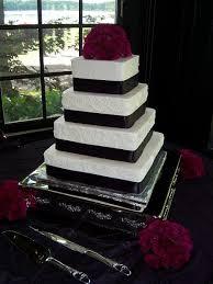 Square Wedding Cakes Tasty Layers Square Wedding Cakes Flint Burton Michigan