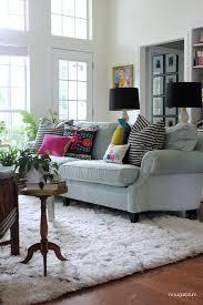 Shaggy Rugs For Living Room Living Room Finally A New Rug Hi Sugarplum