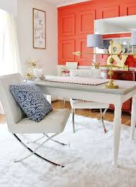 Office Wall Color Ideas Best 25 Bright Office Ideas On Pinterest Colorful Furniture