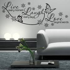 wall stickers love live laugh color walls your house