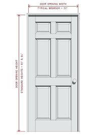 Standard Interior Door Size Door Sizes Interior Door Best Interior Doors