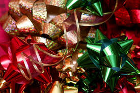 christmas bows for presents christmas bows presents gifts ribbon averymerrylittlechristmas