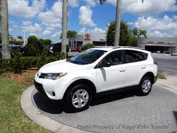 2013 used toyota rav4 fwd 4dr le at royal palm mazda serving palm