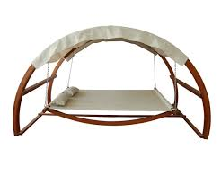 Dog Bed With Canopy Amazon Com Leisure Season Sbwc402 Swing Bed With Canopy Patio
