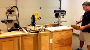 garage workbench refurbished kitchen cabinets for the ultimate