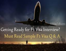 extremely useful f1 visa interview questions and answers