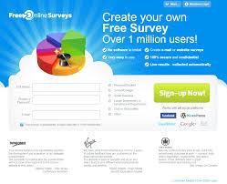new home page design for freeonlinesurveys com survey software