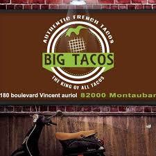 montauban si e perc big tacos home montauban menu prices restaurant reviews