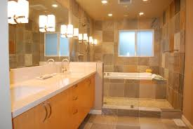 Remodeling A Bathroom Ideas Travertine Cobblestone Floor On The Shower And Large Porcelain