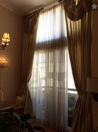 Floor To Ceiling Curtains Tall Windows Floor To Ceiling Curtains Vs Lower Half Only