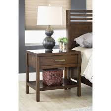 modern one drawer nightstand free shipping today overstock com