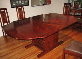 kitchen table extraordinary custom wood furniture round kitchen