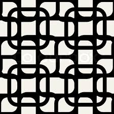 abstract geometric background black and white modern seamless