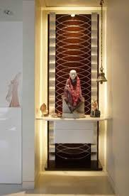 Best Pooja Room Design By Interior Designer Kamlesh Maniya - Hall interior design ideas