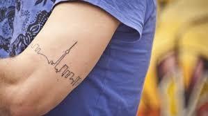simple city skyline tattoo venice tattoo art designs