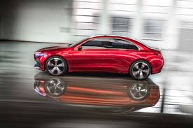 mercedes concept car the mercedes benz concept a sedan is one smooth operator sharp