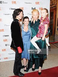 actor ezra miller director lynne ramsay actress tilda swinton and picture id124410422