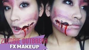 halloween makeup tutorial easy halloween makeup easy zombie tutorial misscamco youtube