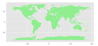 Beautiful World Map by Plotting Beautiful Clear Maps With R