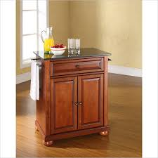 crosley furniture kitchen cart crosley furniture alexandria kitchen cart kf30024ach