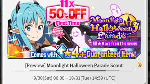 time to whale halloween banner and event preview sword art