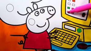 peppa pig cartoni animati bambini