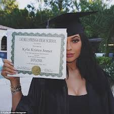 online for highschool graduates jenner gets high school graduation party daily