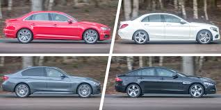 lexus vs toyota crown audi a4 vs mercedes c class vs bmw 3 series vs jaguar xe carwow