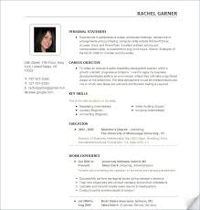 resume format examples bold idea entry level resume examples 10