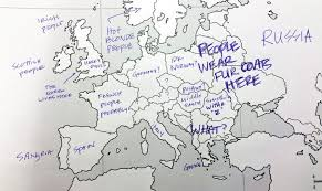 map usa to europe americans and brits label maps of the usa europe