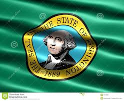 Stae Of Washington Stock Photos by State Flag Of Washington Stock Illustration Image Of Nation 3449507