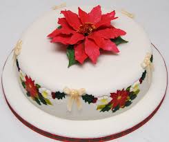 Fruit Decoration For Christmas Cake by Floral Cakes With Fondant Fruit Christmas Cake With Handmade