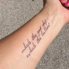 quote tatto so it goes inspirational tattoo quote tattoo temporary