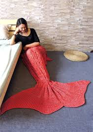 crochet mermaid tail design blanket chicgrace