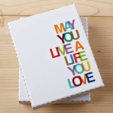 may you live a you boxed note card set