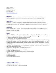 sample resume maintenance worker resume templates industrial maintenance mechanic resume general cover letter sample for bookkeeper free resume templates maintenance resume template