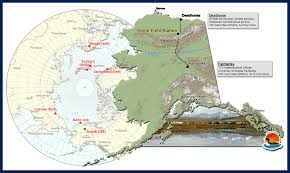 Alaska Road Map by Toolik Field Station General Maps