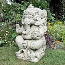 gold laughing buddha statue sculpture garden ornament buy now at