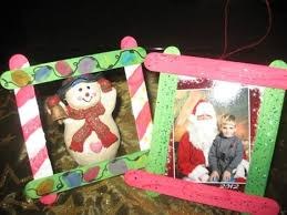 Holiday Craft Ideas For Children - cute picture frame craft ideas for children make great gifts for