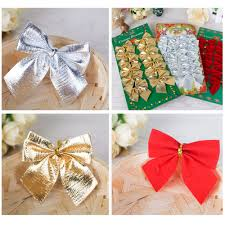 compare prices on red silver christmas decorations online