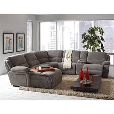gray power reclining sectional sectional couches big lots