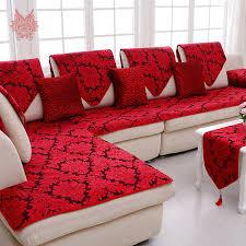 tissu housse canapé classique floral jacquard terry tissu housse de canapé en