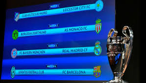 Uefa Chions League How Reacted To Uefa Chions League Quarter Draw