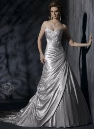 silver plus size bridesmaid dresses silver floor length charmeuse sweetheart plus size wedding dresses