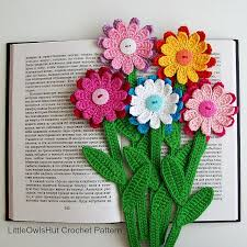 Crochet Designs Flowers 3093 Best Crochet Flowers Images On Pinterest Crocheted Flowers
