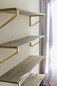 decor metal and wooden shelf brackets for wall decoration ideas