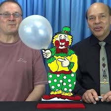 clown balloon forgetful clown balloon circus trick fast shipping magictricks