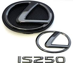 lexus is250 body kit singapore 2014 2015 2016 lexus is250 black pearl plated emblem kit ebay