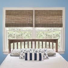 home decorators collection driftwood flatweave bamboo roman shade