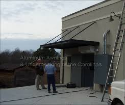 Industrial Awning Aluminum Awnings Commercial Churches Public Buildings